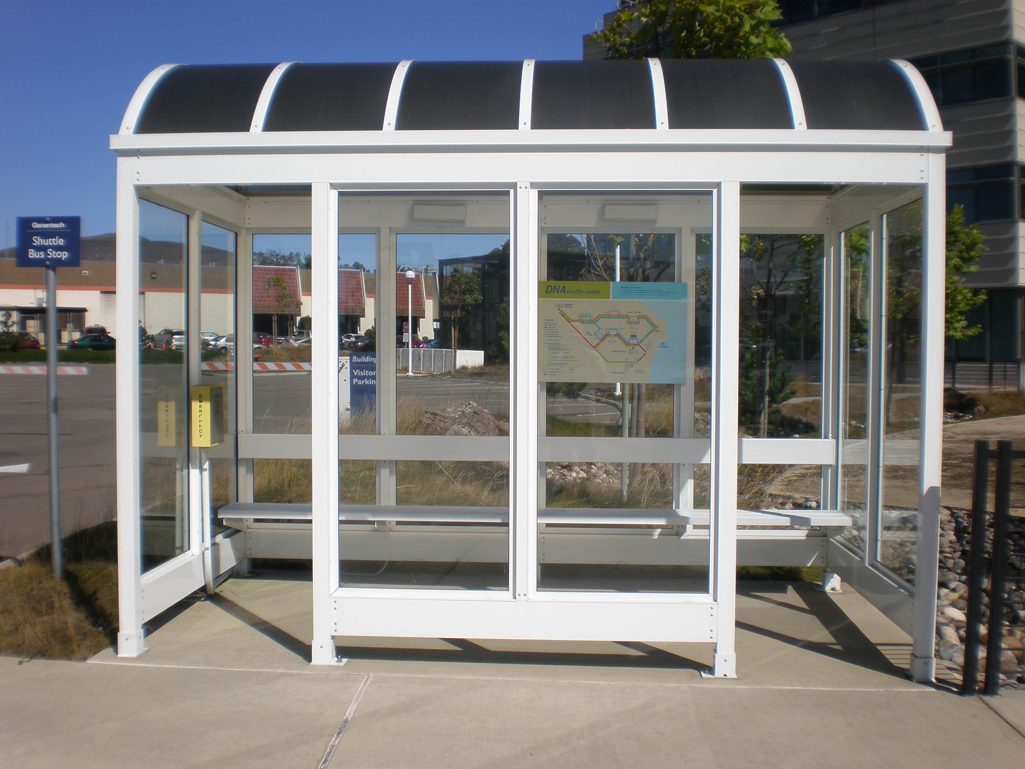 Bus Stop Shelters : July no waste wednesdays